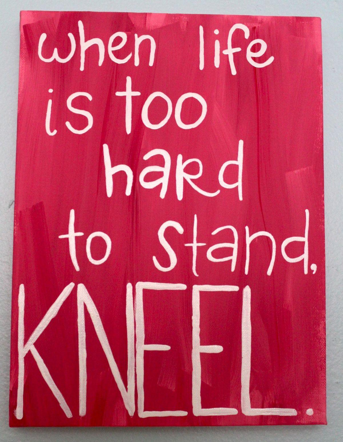 Stand - kneel