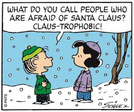 Don't fear Santa